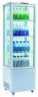 Шкаф-витрина холодильная FROSTY RT280L, white