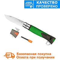 Складной нож Opinel (опинель) №12 Inox Explore Green (001899), фото 1