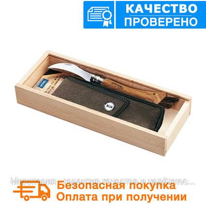 Складной нож грибника с чехлом и подарочной коробкой Opinel №8 001327, фото 2