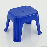 """Гр Стульчик маленький прямоугольный (10) - цвет синий""""K-PLAST"""""""