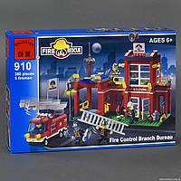 """BRICK 910 (24) """"Пожарная тревога"""" 380 дет, в коробке СОБРАННЫЙ"""