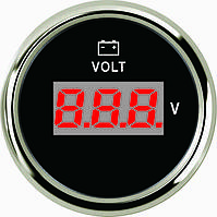 Цифровой вольтметр ECMS (черный), фото 1