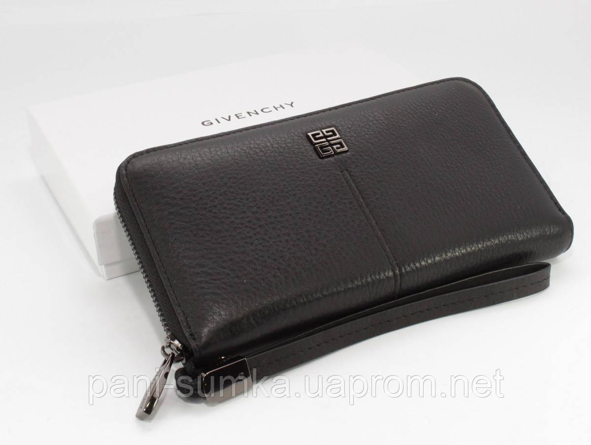 6e5a9794b56c Кошелек женский кожаный на молнии Givenchy 6288 черный: продажа ...