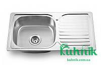 Мойка кухонная Kraft M302_0,8 mm (декор), фото 1