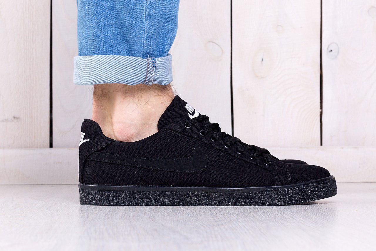 3e5c31c5 Кроссовки мужские Nike SB Blazer черные топ реплика - Интернет-магазин  обуви и одежды KedON