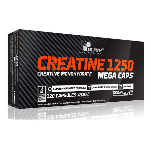Creatine Mega Caps 1250 / Креатин Мега Капс 120 капсул