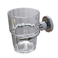 Стакан для зубных щеток Aqualine ( хром )