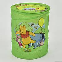 Корзина для игрушек А 01065 (50) салатовая, в кульке
