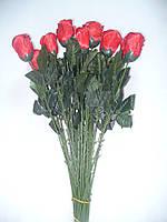 Роза атласна на нозі кольорова, 60см (50 шт), фото 1