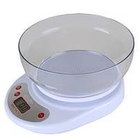 Весы кухонные электронные с чашей Акция!