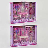 Кукла с мебелью Набор Мечты 2 вида. Куколка для девочки