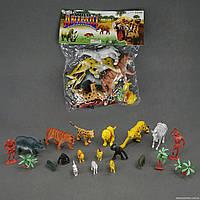 Набор диких животных А 582 (48) 15шт, в кульке