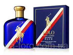 Мужская туалетная вода Ralph Lauren Polo Red White & Blue 125мл