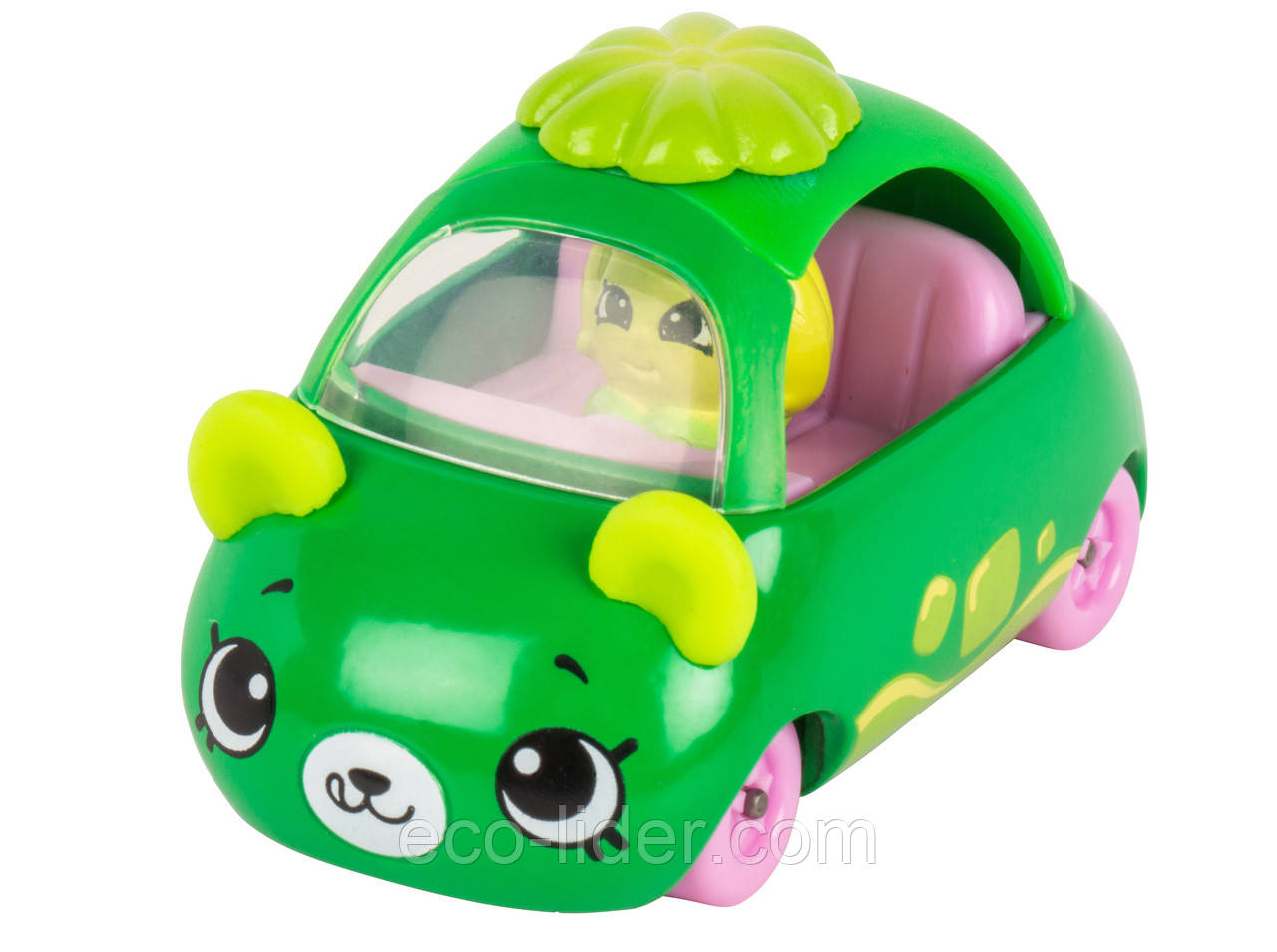Мини-машинка SHOPKINS CUTIE CARS S1 - ЛОВКОЕ ЖЕЛЕ (с мини-шопкинсом)