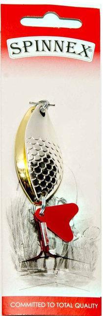 Блесна Spinnex колебалка PERCH AKUSTIK (серебро/золото) 15g