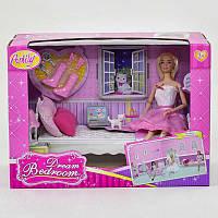 """Кукла с мебелью """"Спальня мечты"""". Детская куколка"""