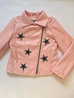 """Стильная куртка """"Косуха со звездами""""."""
