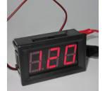 Вольтметр 70~500VAC-PANEL-RED