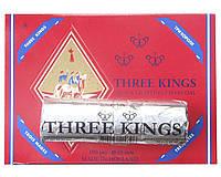 Уголь для кальяна таблетированный «Три короля» (диаметр 33 мм)