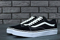 Женские кеды Vans Old Skool Low Black/White топ реплика