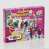 """Гр Игра """"Твистер Super """" 386 (10) """"STRATEG"""""""