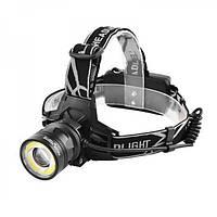 Налобный фонарь POLICE BL-C861-T6+COB