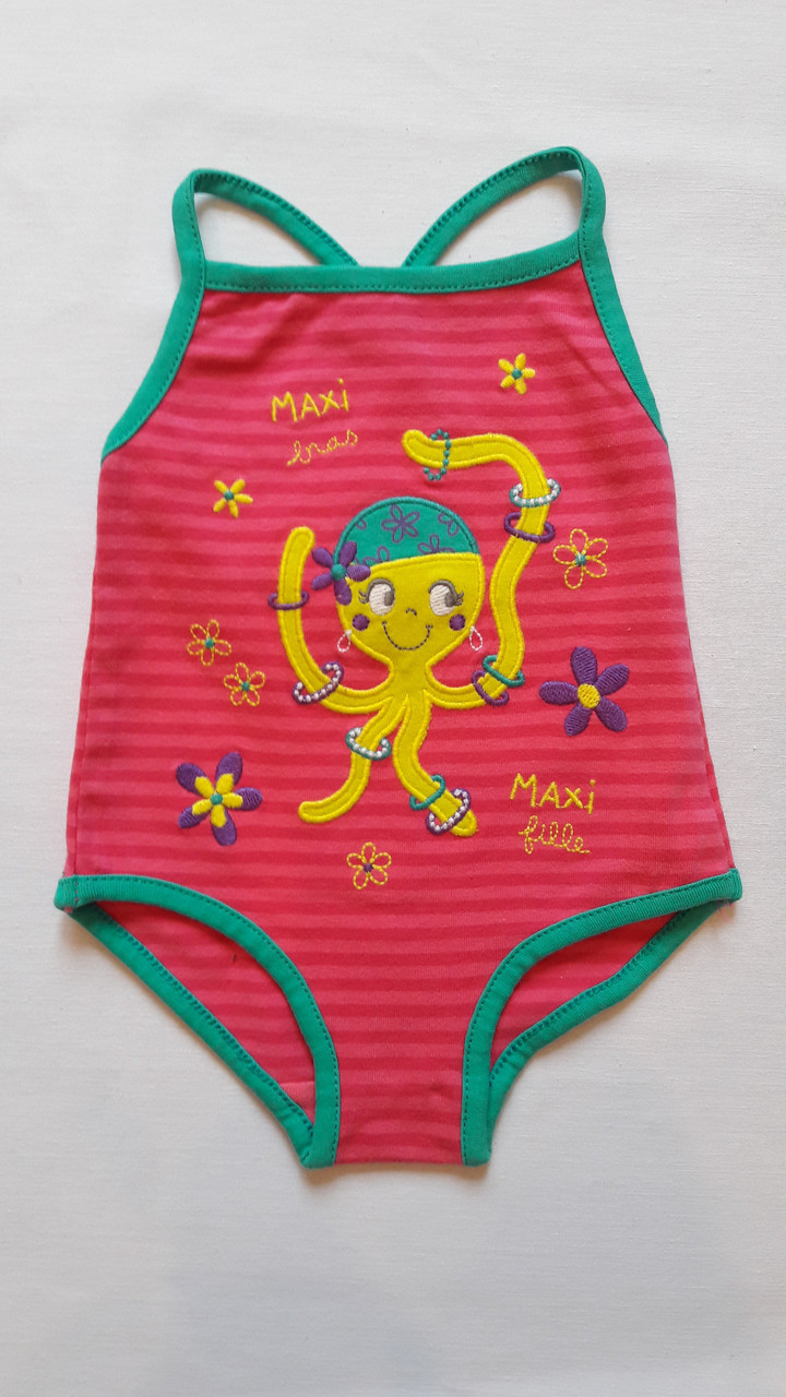 Купальник для девочки DPam осьминог