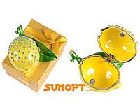 Шкатулка ювелирная Лимон №2813