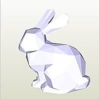 Полигональная модель Кролик в подарочной упаковке