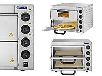 Печь для пиццы Royal Catering  RCPO-3000-2PS-1