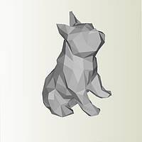 Полигональная модель Собака в подарочной упаковке, фото 1