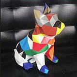 Полигональная модель Собака в подарочной упаковке, фото 3