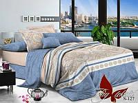 Комплект постельного белья с компаньоном S-127 Евро maxi (TAG satin (еmax)-127)
