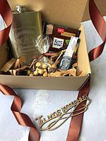 Подарочный набор Настоящего Мужчины в подарочной коробке