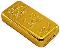 Зажигалка карманная слиток золота №2904
