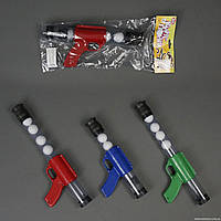 Пистолет пинг-понг 1055 (72/2) 3 цвета, в кульке
