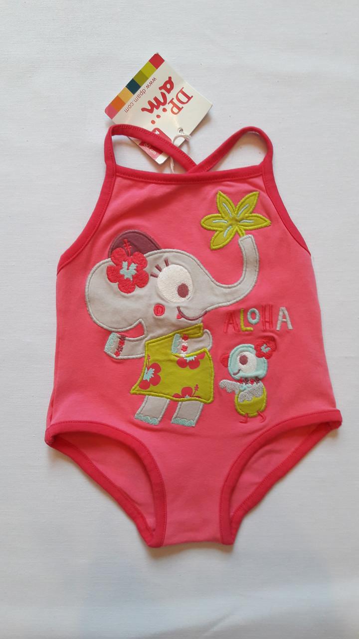 Купальник для девочки DPam слоник