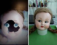Реставрация старинной  куклы