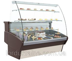 Кондитерская холодильная витрина ВХСд-1,2 Полюс