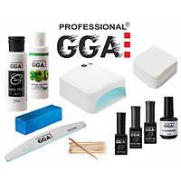 Набор Легкий Старт GGA Professional с УФ лампой 818 на 36 Вт