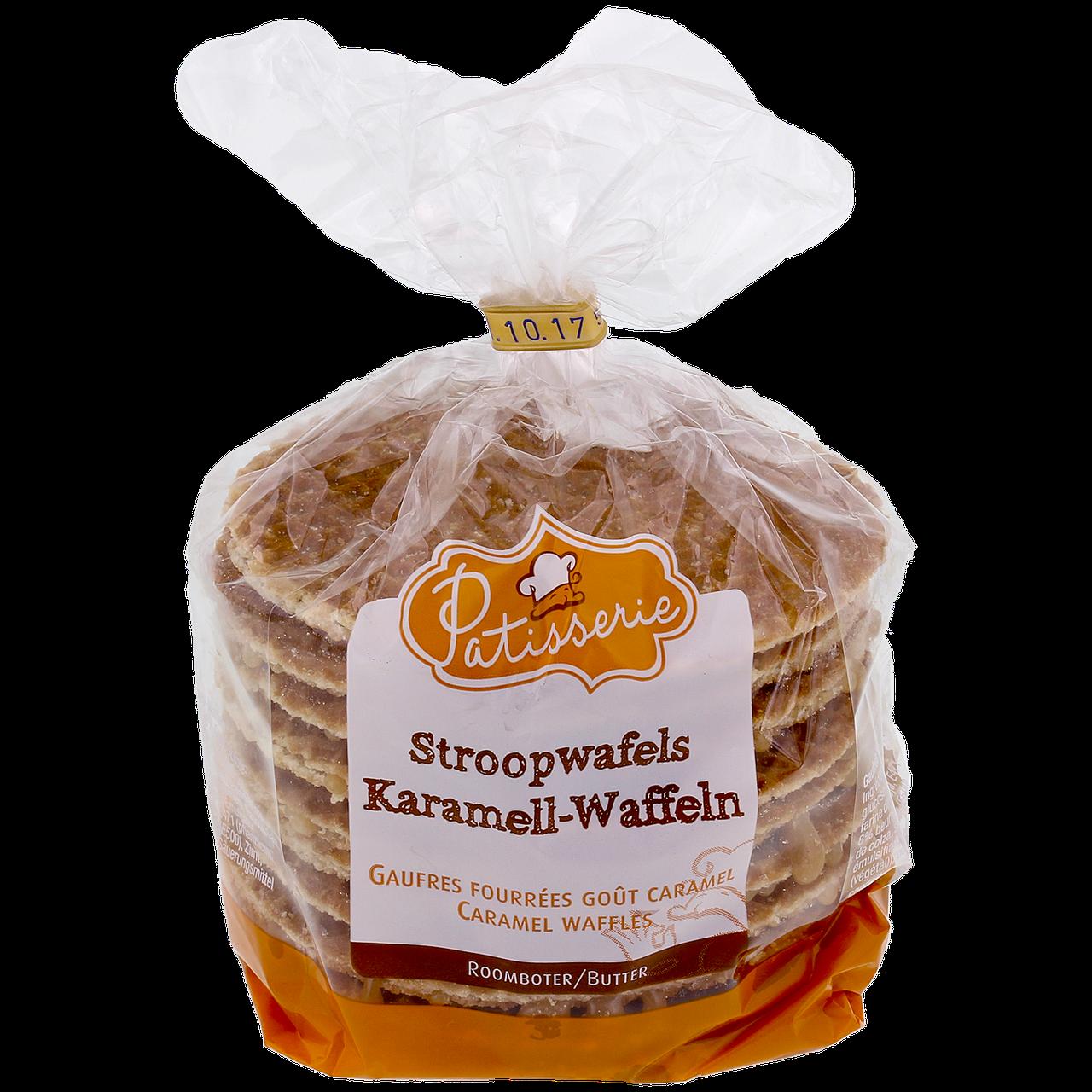 Вафли Stroopwafels Patisserie 400г  с карамелью (Нидерланды)