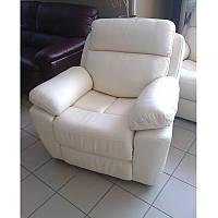 Кресло Реклайнер (натуральная кожа) МК Вега