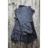 Кожаные перчатки 2 шт.