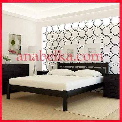 Кровать деревянная Гонконг  (Анабель) , фото 2