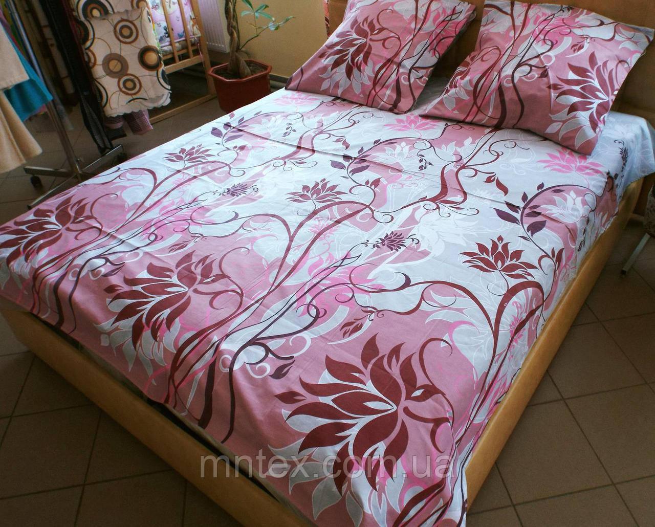 Комплект постельного белья бязь Голд Мечта коралловый