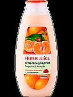 Крем-гель для душа Fresh Juice Tangerine&Awapuhi (мандарин  и авапухи) 400 мл