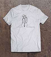 Подарки футболки с рисунком  женские и мужские