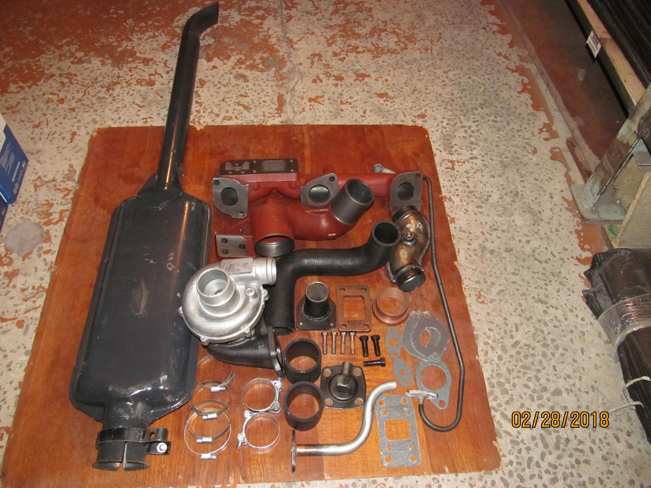 К-т для переоборудования МТЗ (Д-240) под турбокомпрессор (средний)