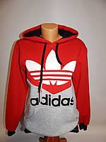 Толстовка мужская зима Adidas реплика  р.46 020TM