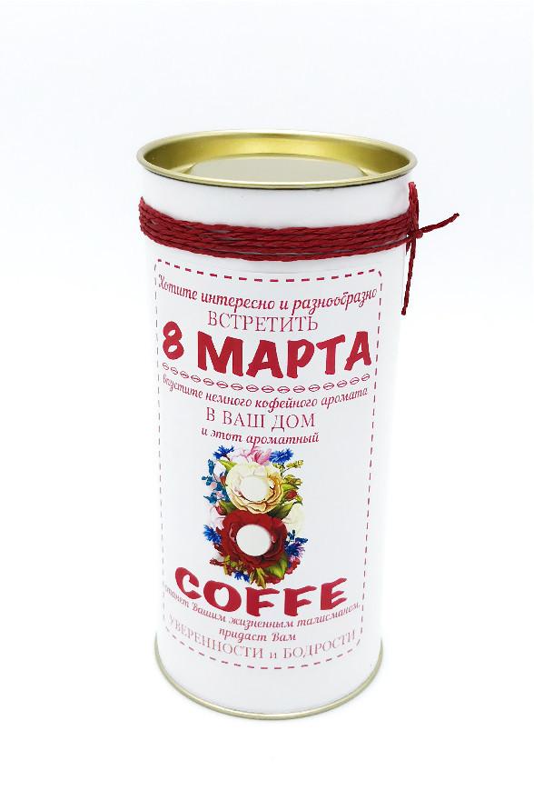 Кофе «8 Марта» - Sweets - купить оригинальные и сладкие подарки в интернет магазине необычных подароков в Харькове